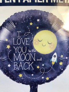 Folieballon Moon 38996.