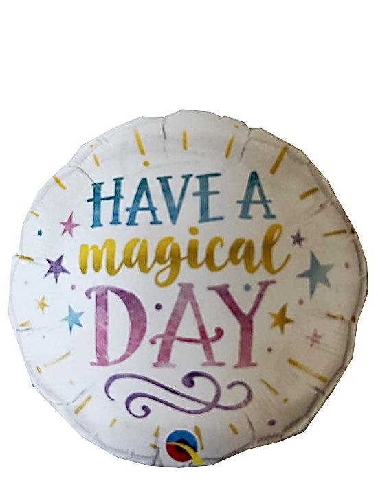 Folieballon Magical 57260