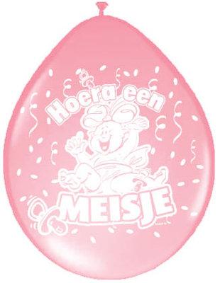 Ballonnen geboorte meisje 08232.