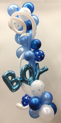 Ballonslinger blauw B007 BOY