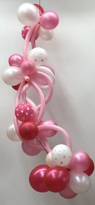 Ballonslinger roze B008