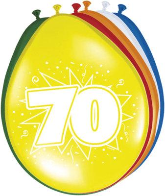 Ballonnen 70 jaar 42220.