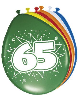 Ballonnen 65 jaar 08265.