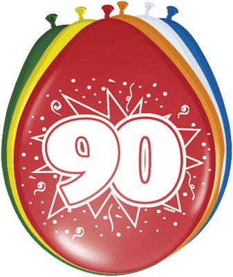 Ballonnen 90 jaar 08290.