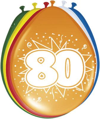 Ballonnen 80 jaar 08280.