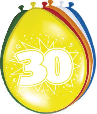 Ballonnen 30 jaar 42215.