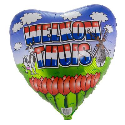 Folieballon Welkom thuis 60777.