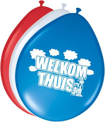Ballonnen welkom thuis 08253.