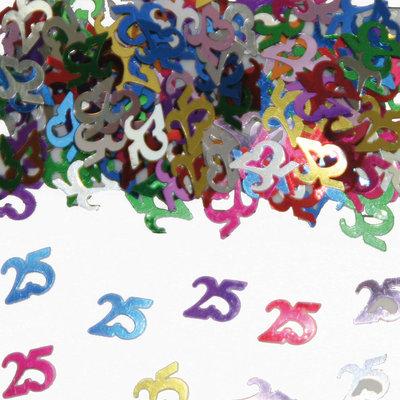 Tafelconfetti 25 jaar 05313.