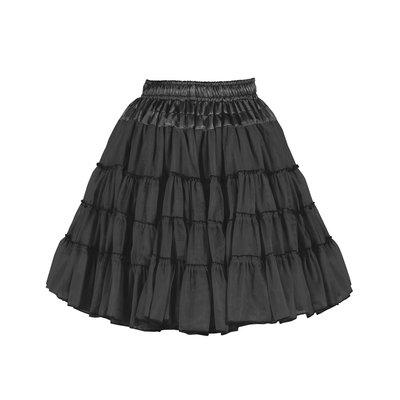 07024-0200 Petticoat zwart.