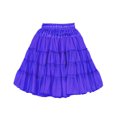 Petticoat blauw 0724-0400.