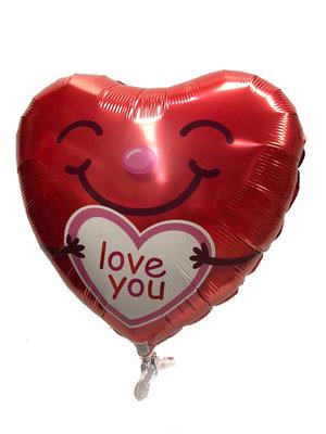 Folieballon hart 21823Q