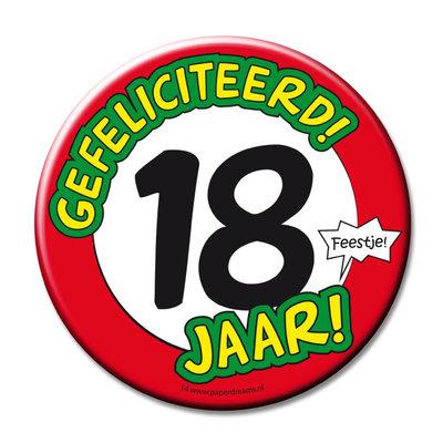Button 18 jaar 11366.
