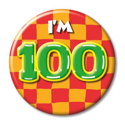 Button 100 jaar 13129.