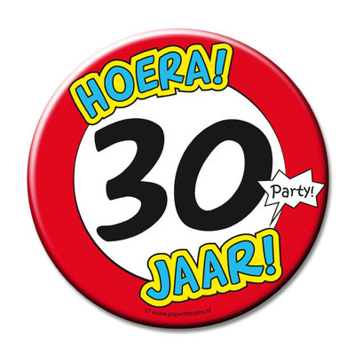 Button 30 jaar 11374 3.