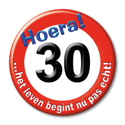 Button 30 jaar 13136.