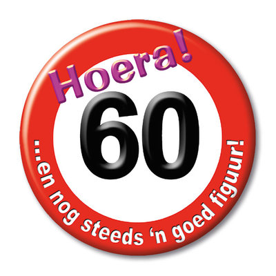 Button 60 jaar 13139.