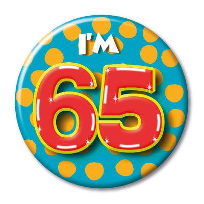 Button 65 jaar 00334.