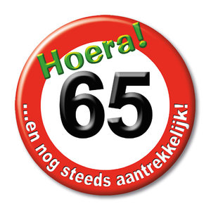Button 65 jaar 13140.